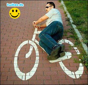 Stein-Fahrrad
